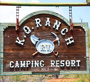 KQ Ranch Resort - KQ Ranch Resort Sign